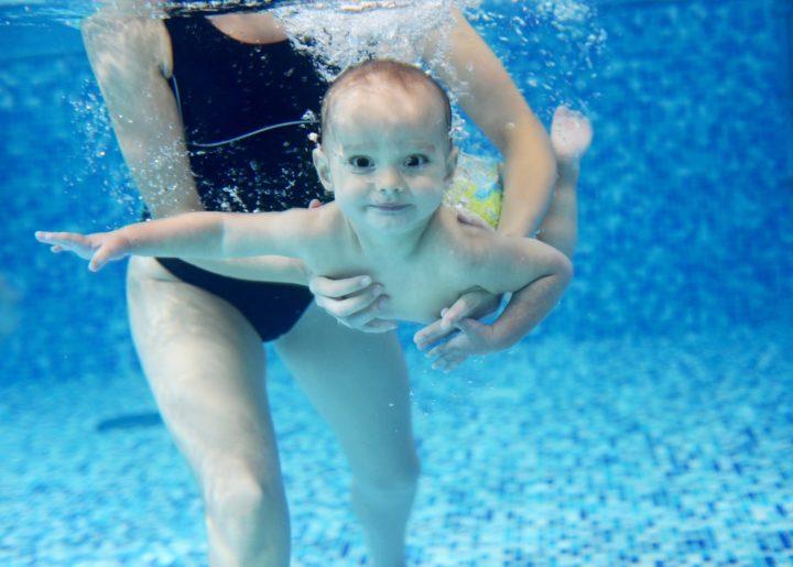 Babyschwimmen 4-9 Monate